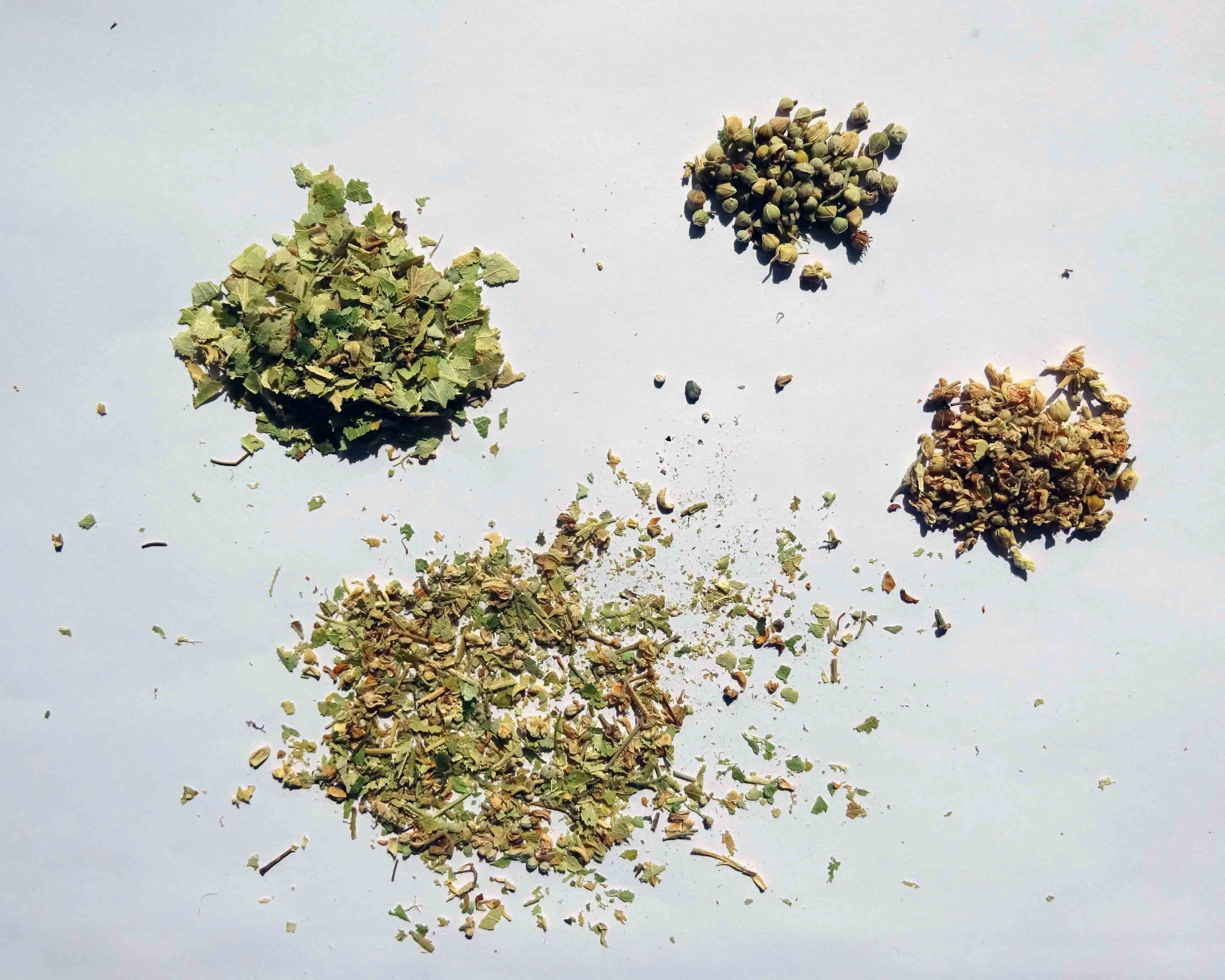 Bestandteile des Lindenblütentees von Alnatura