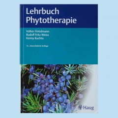 Lehrbuch Phytorherapie aus dem Haug-Verlag Stuttgart.