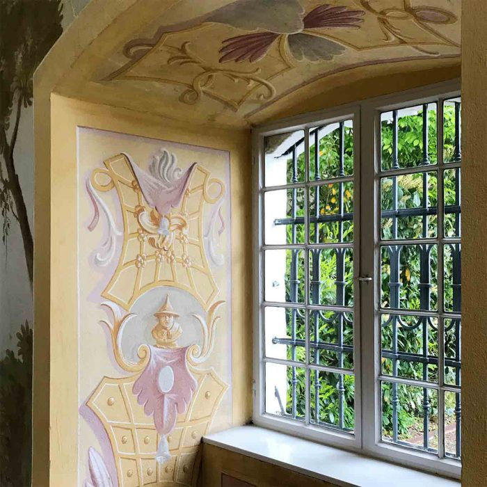 Ein Detail aus dem chinesischen Salon.