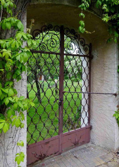 Das Tor zum geheimen Garten.