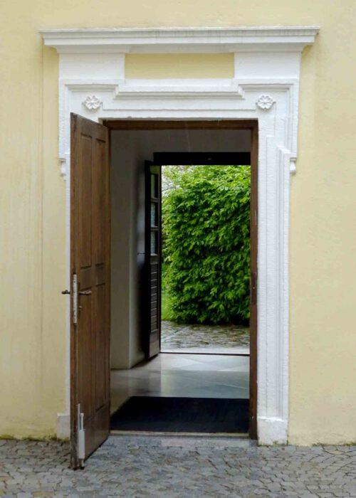 Im Stift Altenburg öffnet sich so manche Tür.