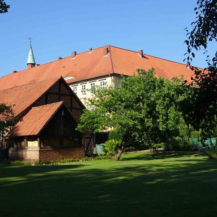 Der Klostergarten Isenhagen öffnet nur zweimal im Jahr seine Tore für Besucher.