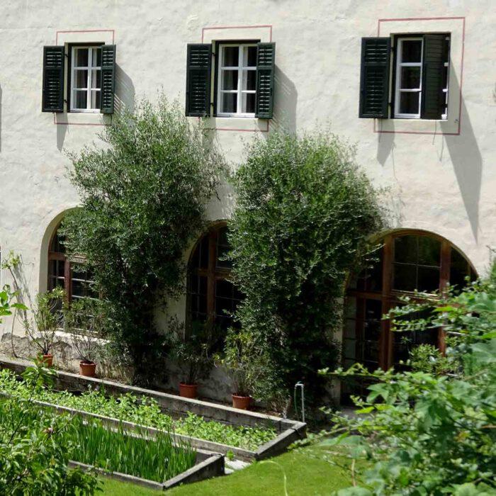 Der Mönche Hobbygarten bleibt dem gemeinen Besucher verschlossen.