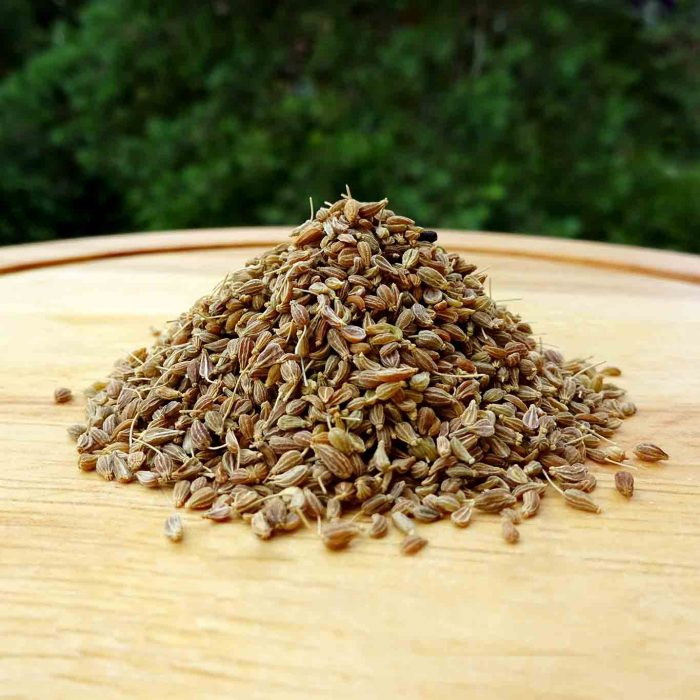 Ein gutes Mittel gegen Magen-Darm-Beschwerden und bei Husten ist ein Tee mit Anisfrüchten.