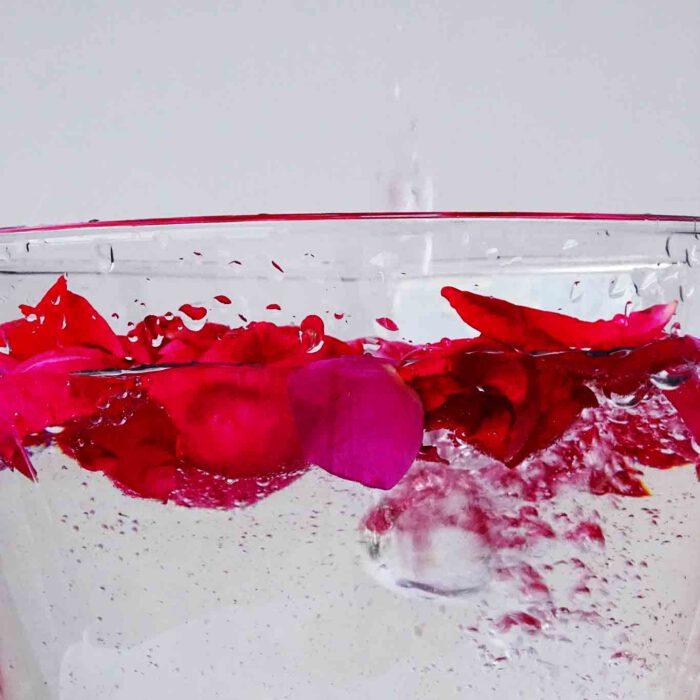 Rosenblätter sind ein Symbol für Luxus, zugleich können sie die Haut wohltuend pflegen.