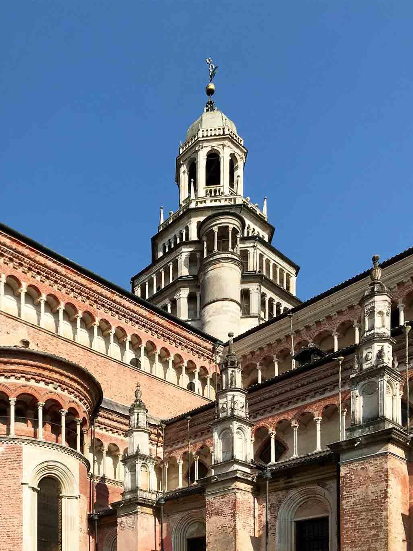 Die Architektur der Klosterkirche ist weltberühmt.