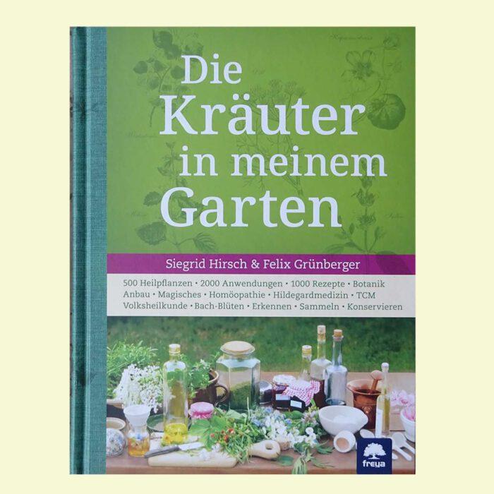 """Buchcover des Titels """"Die Kräuter in meinem Garten"""" im Freya-Verlag"""